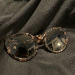DIFF eyewear tortoise oversized sunglasses 😍